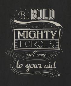 Blog be bold